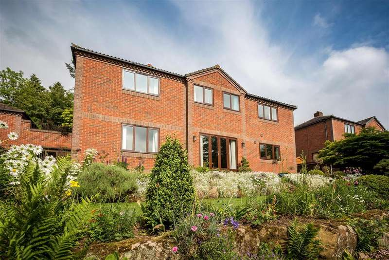 4 Bedrooms Detached House for sale in The Hawthorns, Little Eaton, Derby