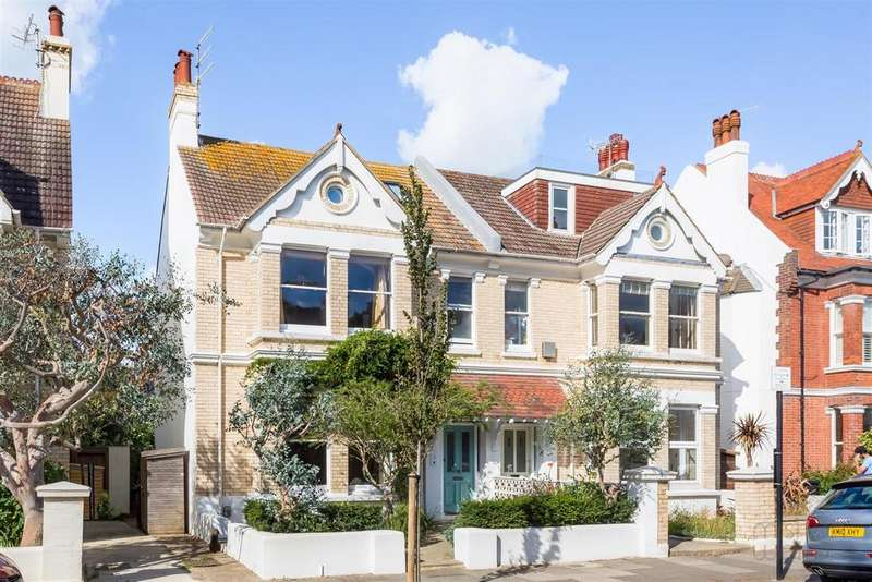 5 Bedrooms Semi Detached House for sale in Sackville Gardens, Hove
