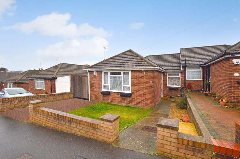 3 Bedrooms Bungalow for sale in Hillary Crescent, South Luton, Luton, LU1 5JH