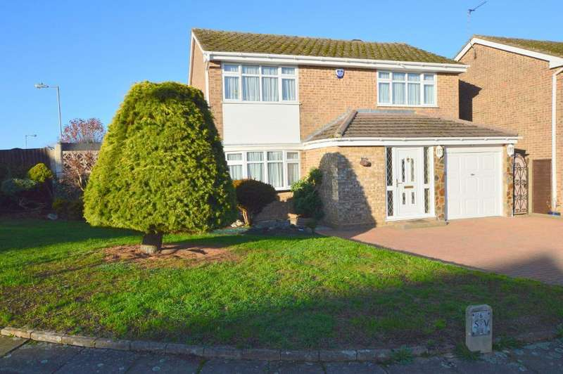 4 Bedrooms Detached House for sale in Middleton Road, Putteridge, Luton, Bedfordshire, LU2 8HY