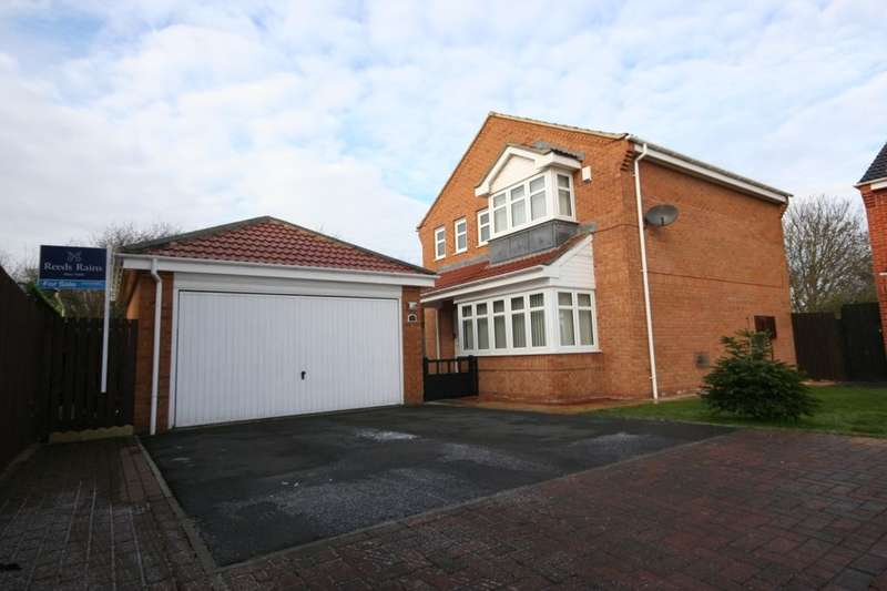 4 Bedrooms Detached House for sale in Snowdrop Close, Stockton-On-Tees, TS19
