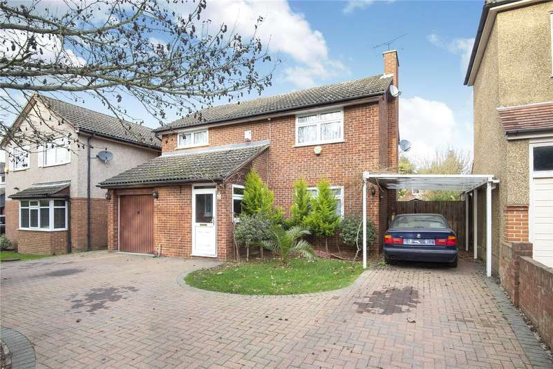 4 Bedrooms Detached House for sale in Ladygate Lane, Ruislip, Middlesex, HA4