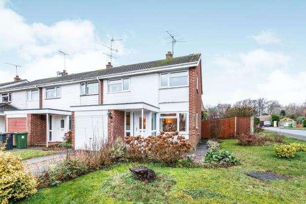 3 Bedrooms End Of Terrace House for sale in Kings Furlong, Basingstoke, Hampshire