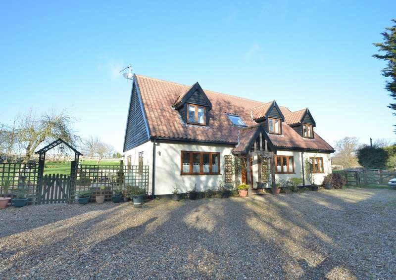 4 Bedrooms Detached House for sale in Church Road, Ringsfield, Beccles