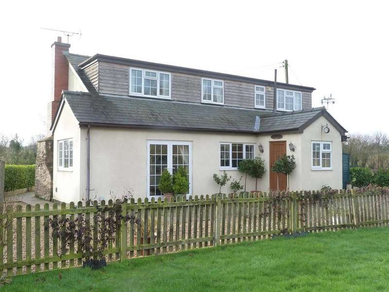 3 Bedrooms Detached House for sale in Bishopstone, Hereford, HR4