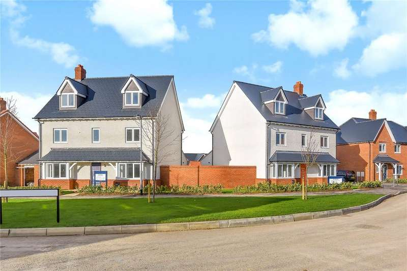 4 Bedrooms Detached House for sale in Tadpole Garden Village, Priory Vale, Swindon, Wiltshire, SN25