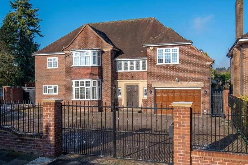 4 Bedrooms Detached House for sale in Hamilton Avenue, Harborne, Birmingham, B17 8AS