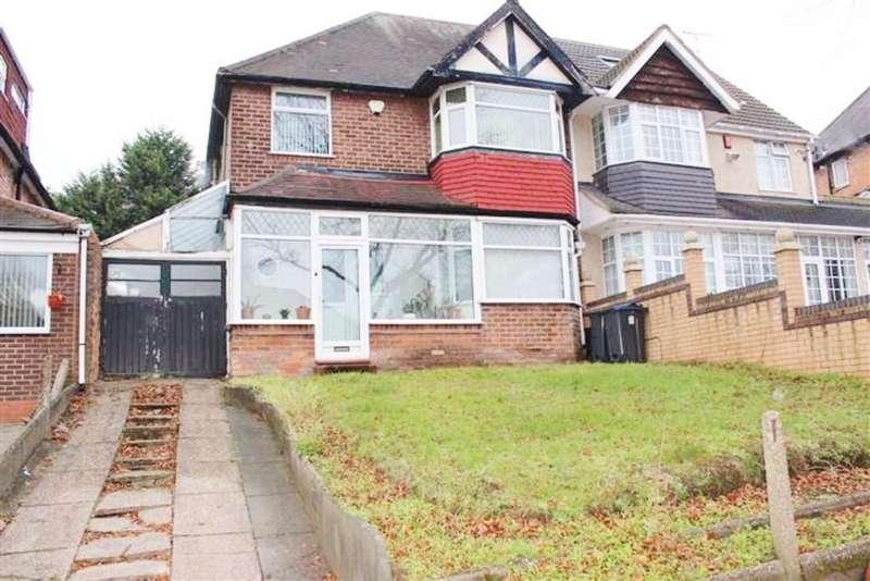 3 Bedrooms Semi Detached House for sale in Lindale Avenue, Birmingham
