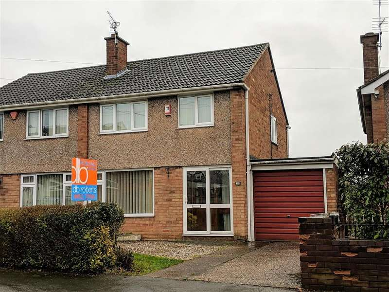 3 Bedrooms Semi Detached House for sale in Hinkshay Road, Dawley, Telford