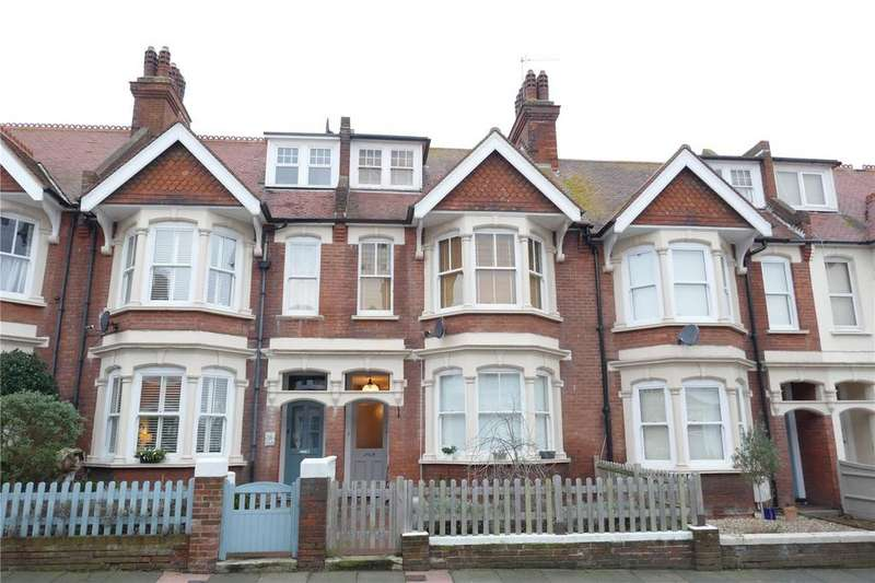4 Bedrooms Terraced House for sale in Vicarage Road, Eastbourne, East Sussex, BN20