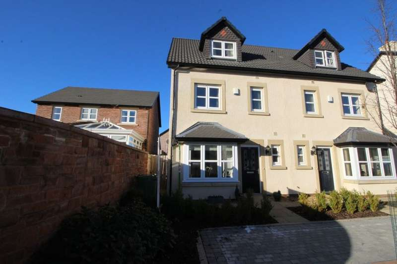 4 Bedrooms Semi Detached House for sale in Bishops Way, Dalston, Carlisle, CA5