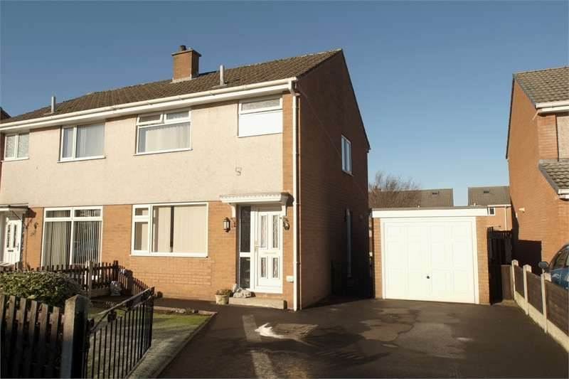 3 Bedrooms Semi Detached House for sale in CA7 9JT Springfields, WIGTON, Cumbria