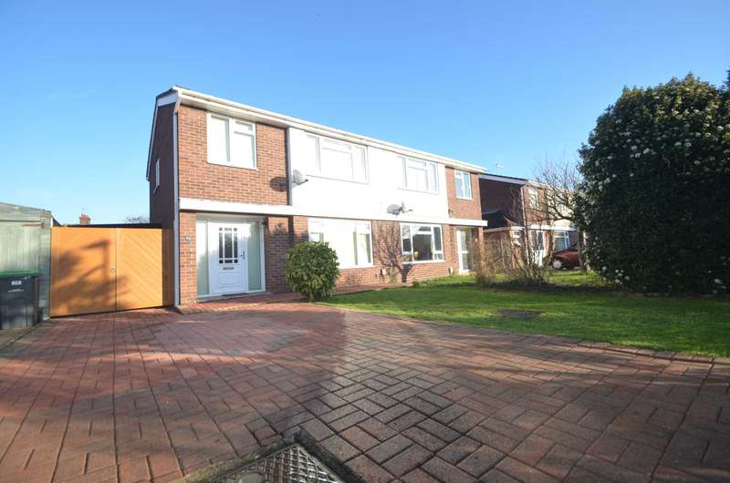 3 Bedrooms Semi Detached House for sale in Penlee Close, Bedford