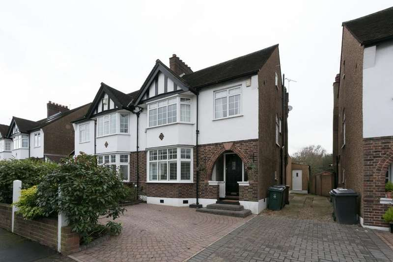3 Bedrooms Semi Detached House for sale in Hollywood Way, Woodford Green, IG8