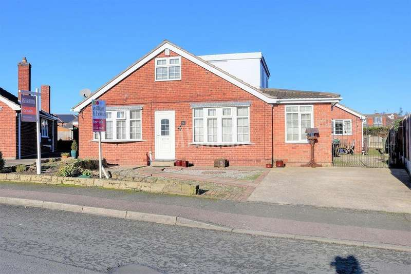 4 Bedrooms Bungalow for sale in Elvaston Road, North Wingfield,Chesterfield