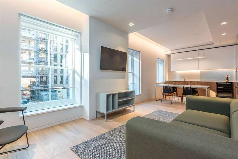 2 Bedrooms Flat for sale in Bartholomew Close, Farringdon, Barbican, London, EC1A