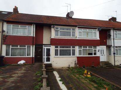 2 Bedrooms Terraced House for sale in Queens Drive, Waltham Cross, Hertfordshire