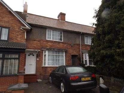 3 Bedrooms Terraced House for sale in Botha Road, Bordesley Green, Birmingham, West Midlands