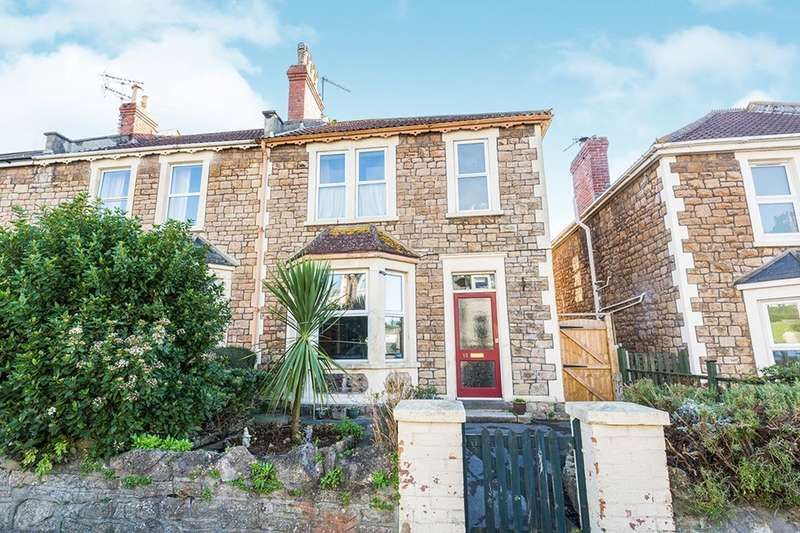 3 Bedrooms Semi Detached House for sale in Slade Road, Portishead, Bristol, BS20