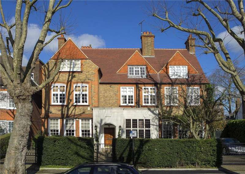 5 Bedrooms Apartment Flat for sale in Flat 1, Wadham Gardens, Primrose Hill, London, NW3