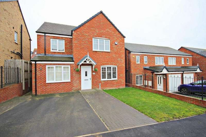 4 Bedrooms Detached House for sale in Angel Way, Birtley, Chester Le Street
