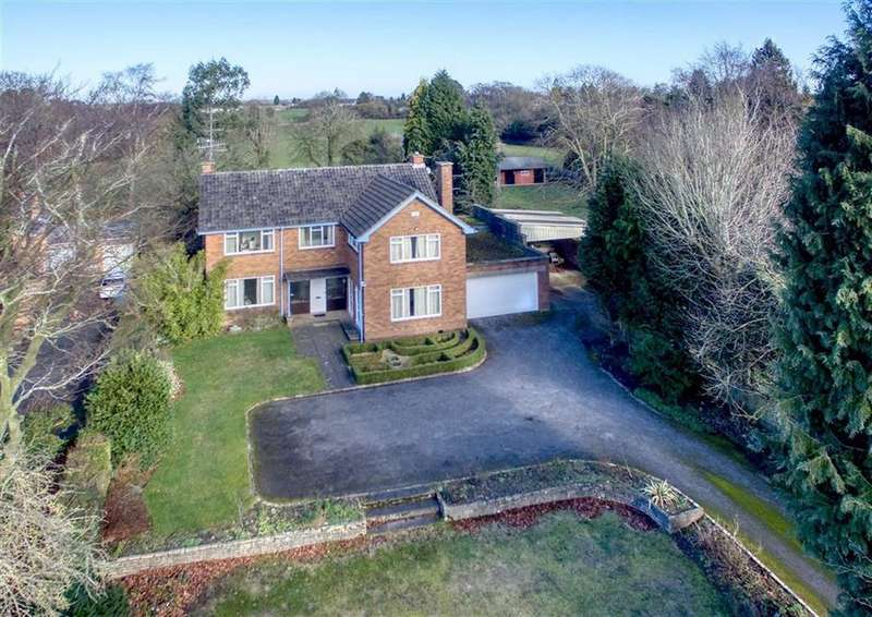 5 Bedrooms Detached House for sale in White Orchard, 64, Showell Lane, Lower Penn, Wolverhampton, South Staffordshire, WV4