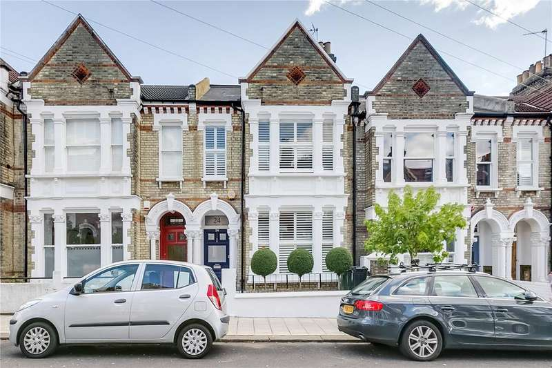 4 Bedrooms Terraced House for sale in Kingscourt Road, London, SW16