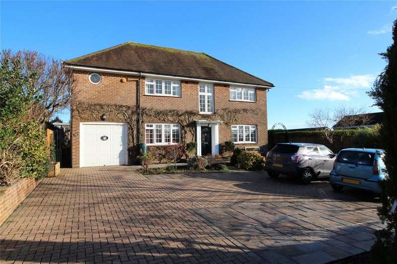 4 Bedrooms Detached House for sale in Salvington Hill, High Salvington, Worthing, West Sussex, BN13