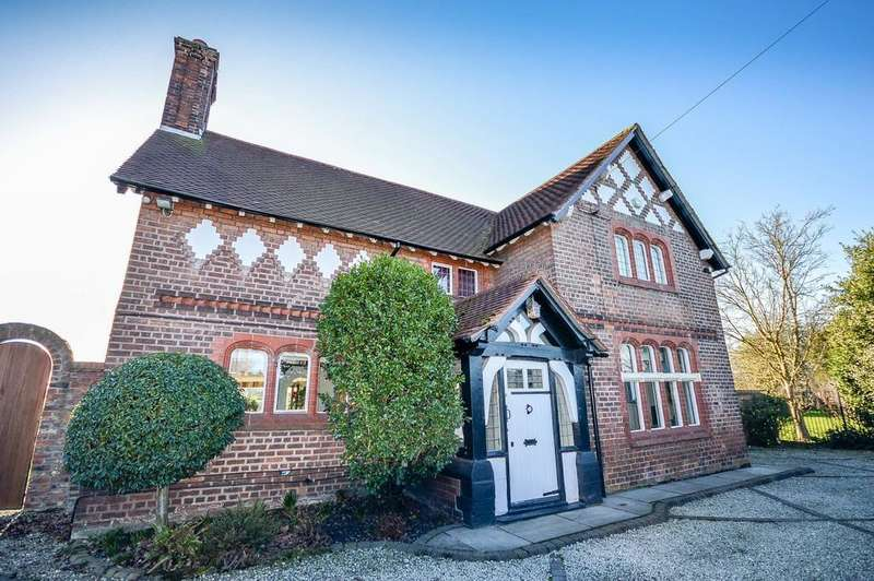 4 Bedrooms Detached House for sale in Dunham Road, Warburton
