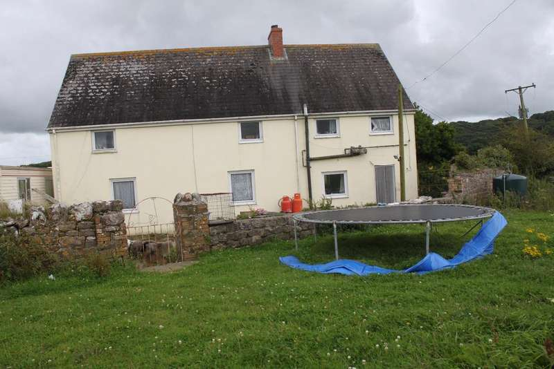 5 Bedrooms Farm House Character Property for sale in Cheriton, Llanmadoc, Abertawe, SA3