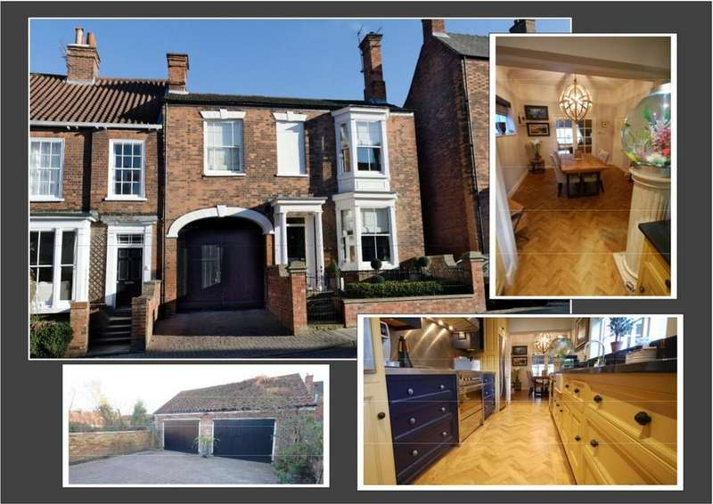 4 Bedrooms Town House for sale in Upgate, Louth LN11 9HD