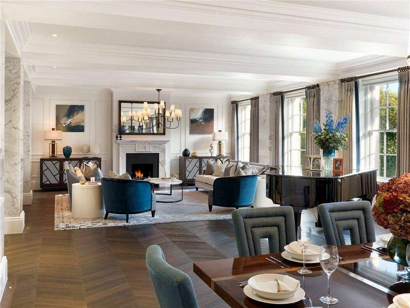 4 Bedrooms Flat for sale in Grosvenor Square, London, W1K
