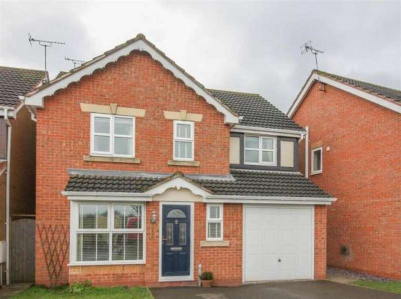 4 Bedrooms Detached House for sale in Sinclair Drive, Longford, Coventry