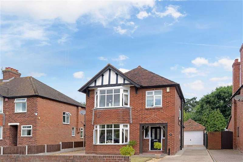3 Bedrooms Detached House for sale in Ebnal Road, Shrewsbury, Shropshire