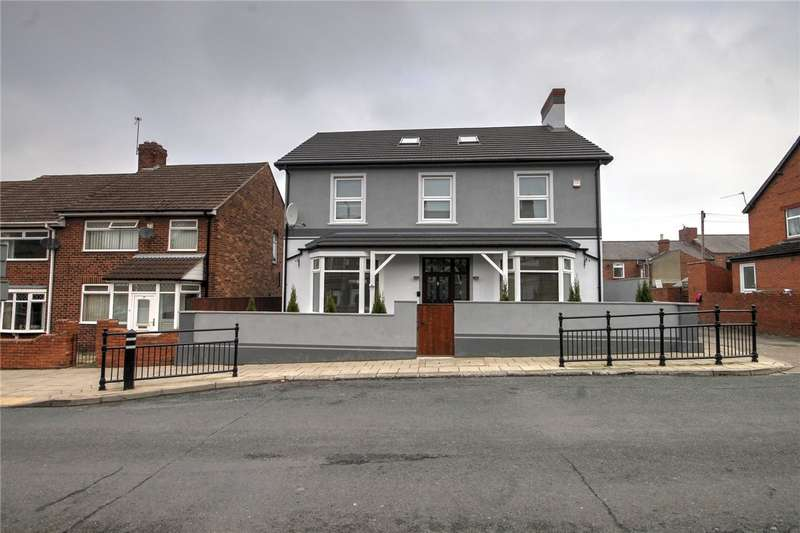 4 Bedrooms Detached House for sale in Redworth Road, Shildon, County Durham, DL4
