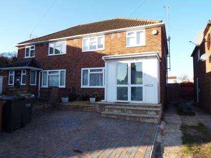 3 Bedrooms Semi Detached House for sale in Hayhurst Road, Luton, Bedfordshire, England