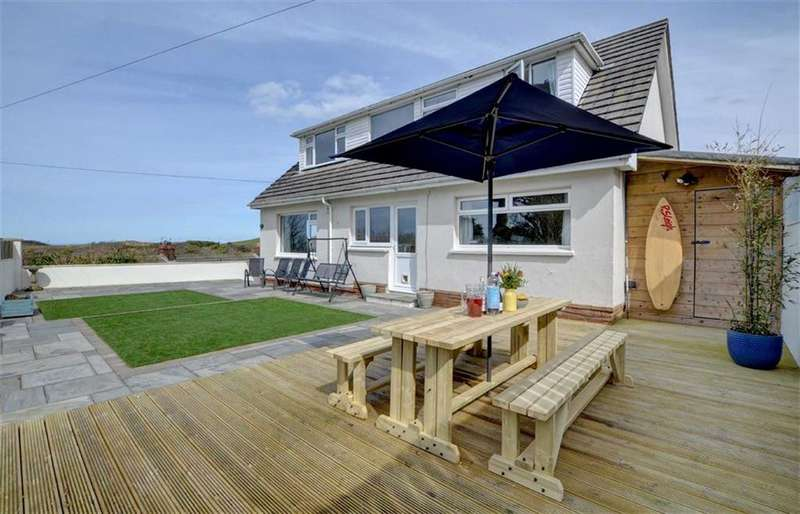 4 Bedrooms Bungalow for sale in Channel View, Mortehoe, Woolacombe, Devon, EX34