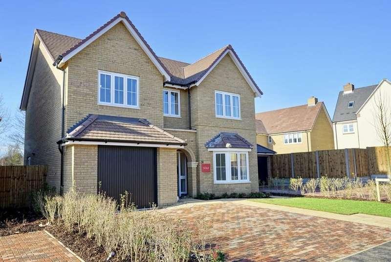 4 Bedrooms Detached House for sale in Burmo Way, Potton