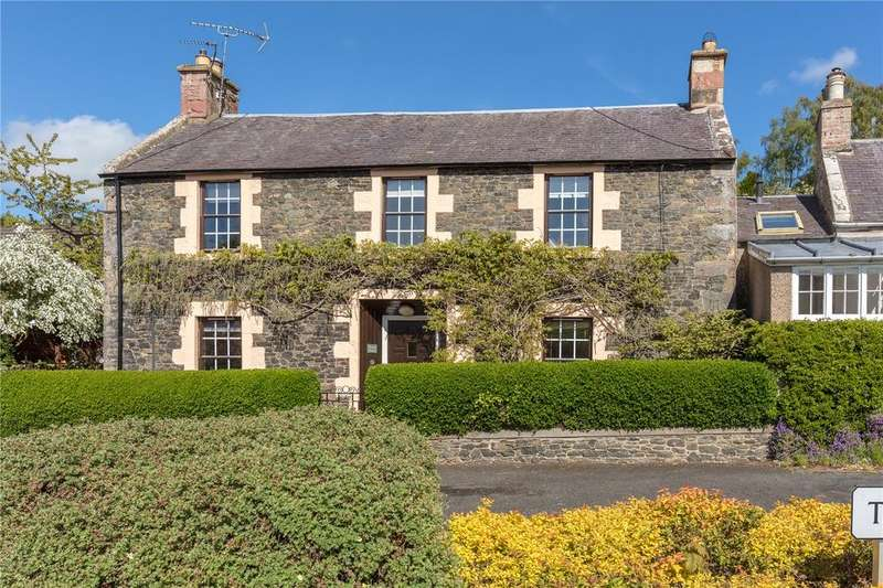 4 Bedrooms Semi Detached House for sale in Boston House, Gattonside, Melrose, Scottish Borders