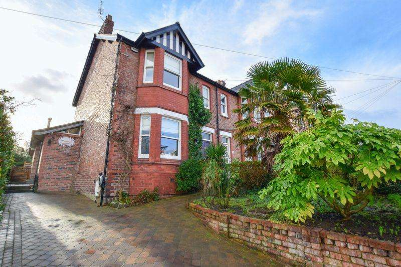 4 Bedrooms Semi Detached House for sale in Brook Road, Lymm
