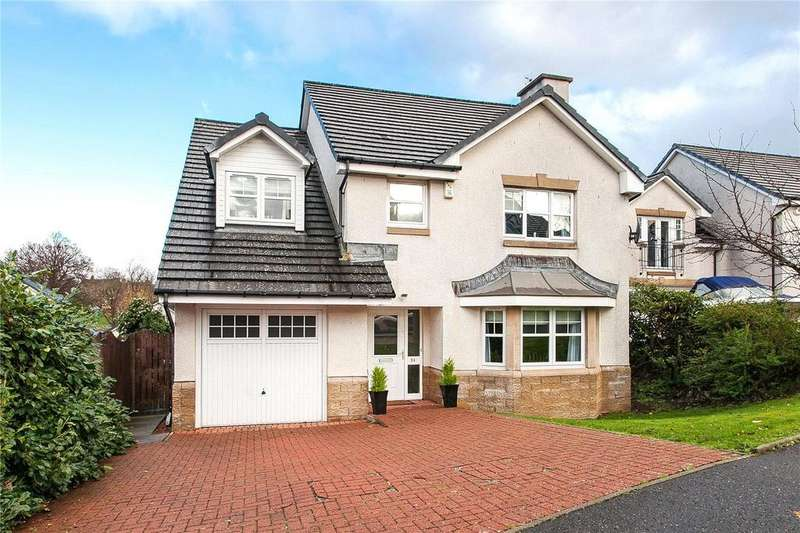 4 Bedrooms Detached House for sale in Braids Circle, Paisley, Renfrewshire