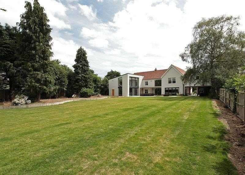 6 Bedrooms House for sale in The White House, Gaston Street, East Bergholt