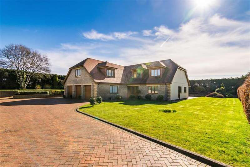 4 Bedrooms Detached House for sale in Anderson Lane, Southgate, Swansea