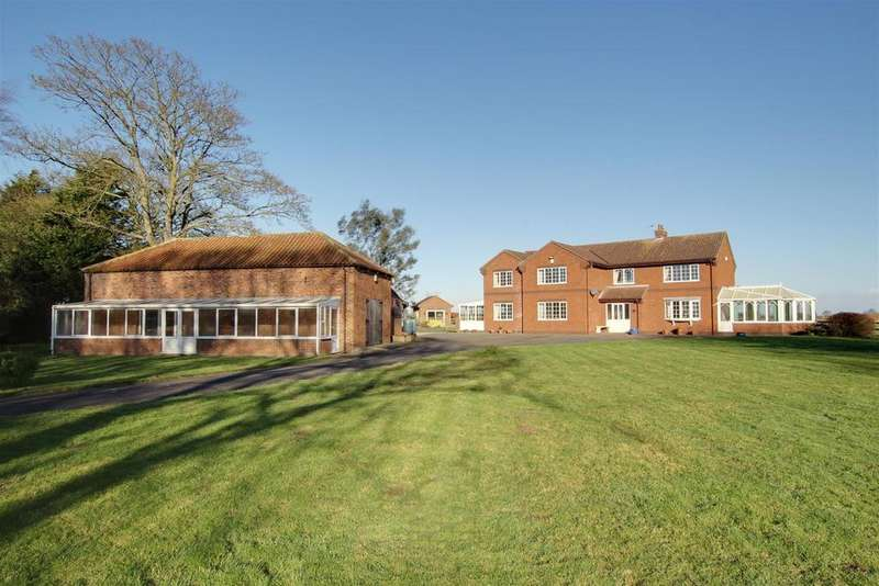 5 Bedrooms Detached House for sale in Thrumber Marsh Lane, Mumby, Alford
