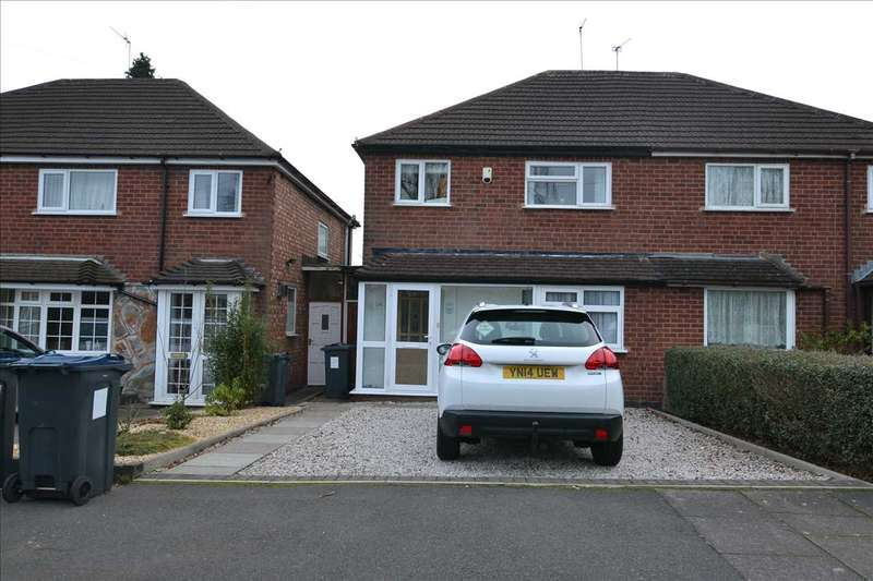 3 Bedrooms Semi Detached House for sale in Amblecote Avenue, Great Barr, Birmingham