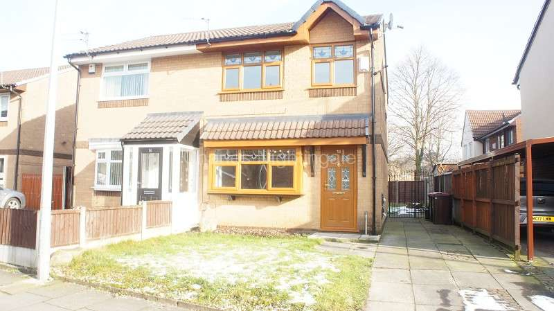 3 Bedrooms Semi Detached House for sale in Ridyard Street, Little Hulton, Manchester, Greater Manchester. M38 9LN