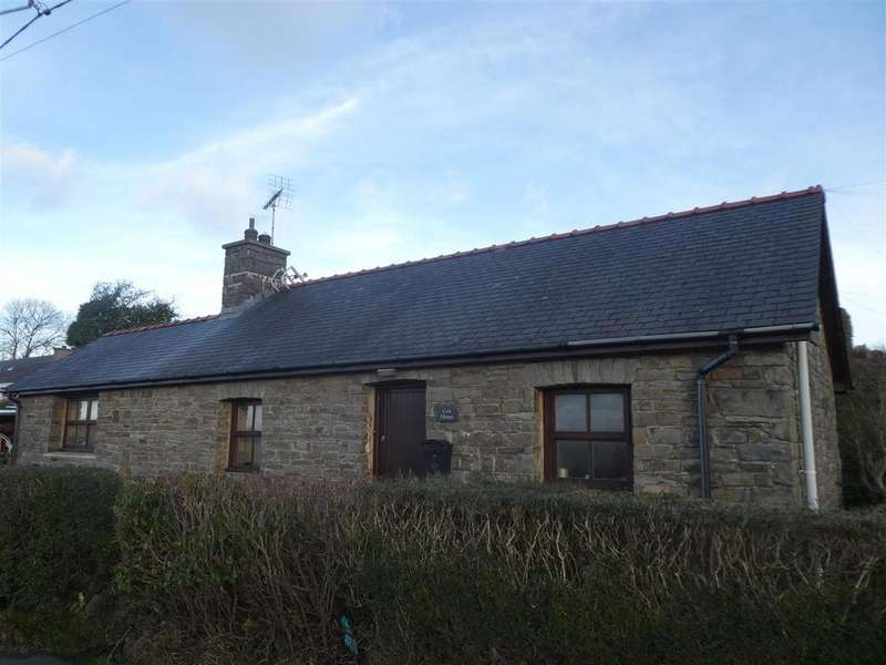 1 Bedroom Cottage House for sale in Ffosyffin, Aberaeron
