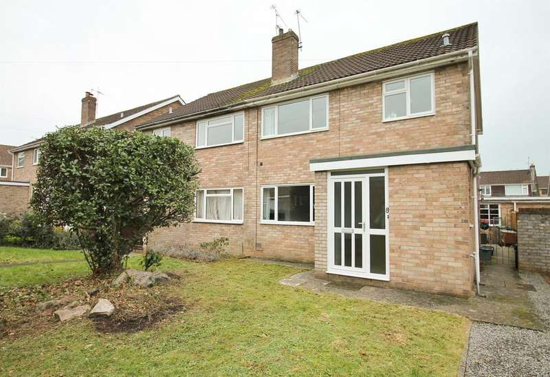 3 Bedrooms Semi Detached House for sale in Fosse Close, Nailsea, North Somerset BS48 2BE