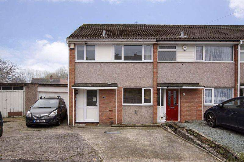 3 Bedrooms End Of Terrace House for sale in Petersway Gardens, Bristol, BS5 8TA