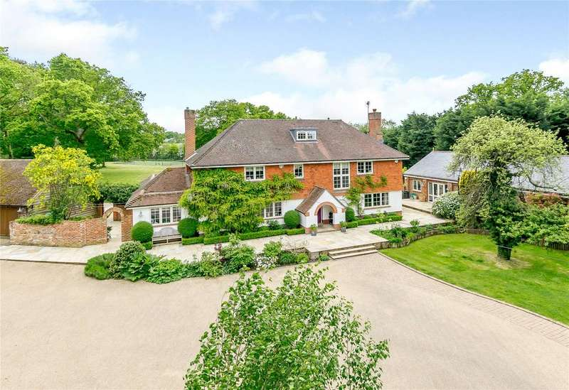 5 Bedrooms Detached House for sale in Cricketers Lane, Warfield, Bracknell, Berkshire, RG42